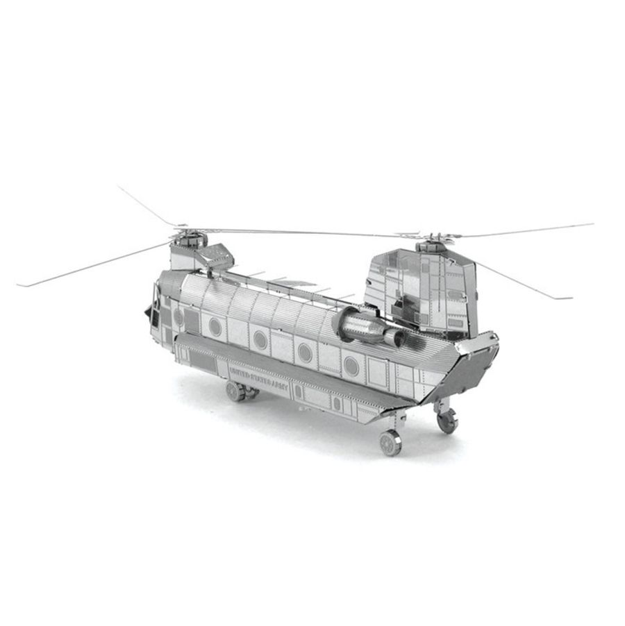 Chinook Helicopter Metal Earth Model 3D Puzzle Kit Mens Gadget Gift Nano