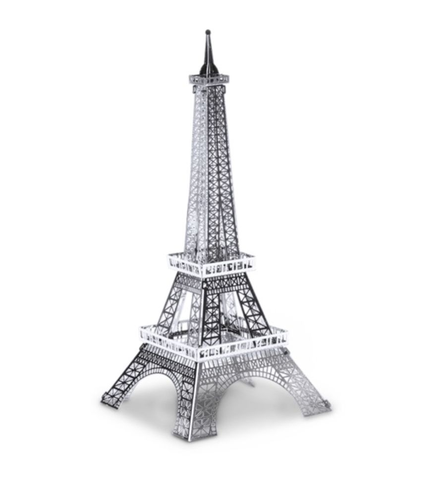 Eiffel Tower Metal Earth Model 3D Puzzle Kit Mens Gadget Gift Nano