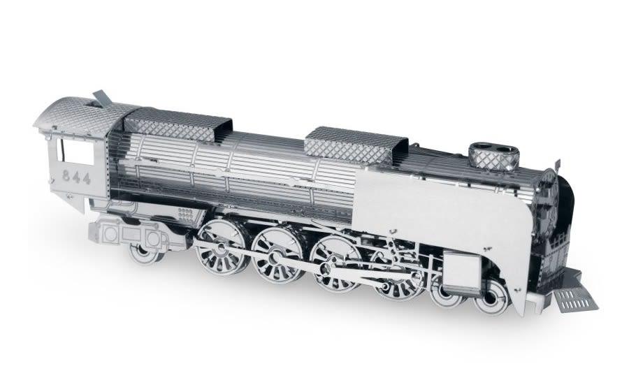 Train Steam Locomotive Metal Earth Model 3D Puzzle Kit Mens Gadget Gift Nano