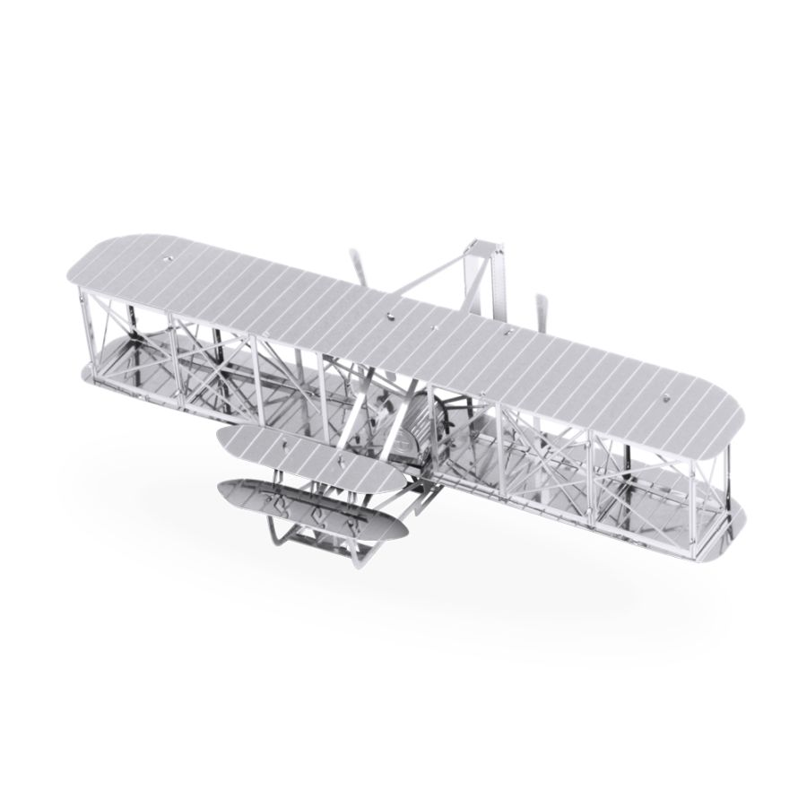Wright Brothers Plane Metal Earth Model 3D Puzzle Kit Mens Gadget Gift Nano