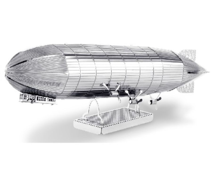 Graf Zeppelin Airship Metal Earth Model 3D Puzzle Kit Mens Gadget Gift Nano