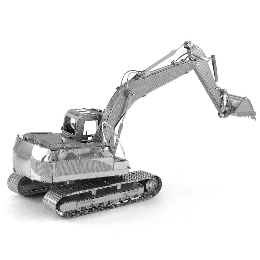 Long Arm Digger Metal Earth Model 3D Puzzle Kit Mens Gadget Gift Nano