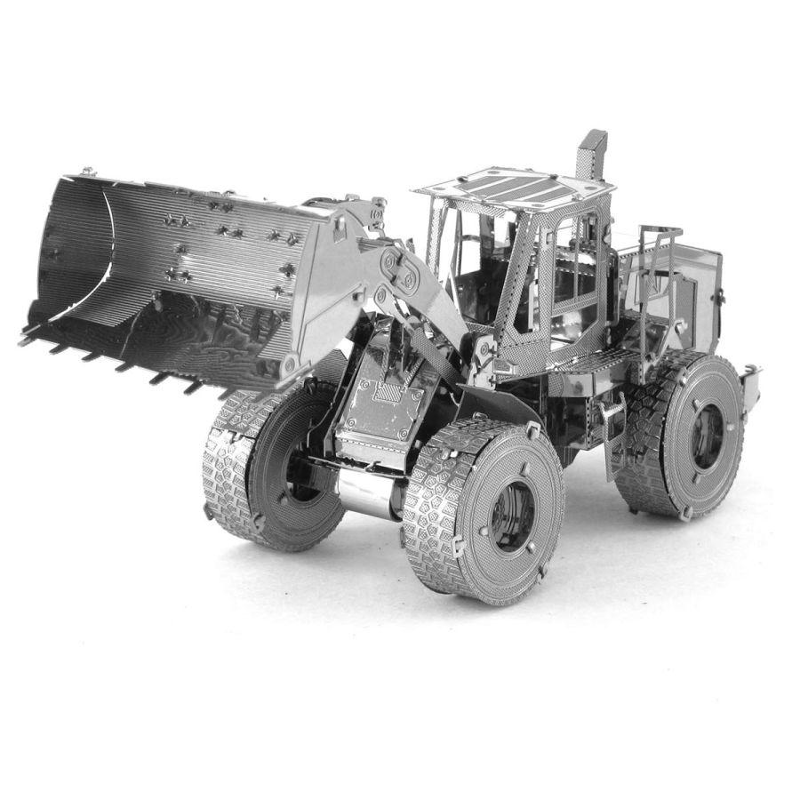 Bulldozer Digger Metal Earth Model 3D Puzzle Kit Mens Gadget Gift Nano