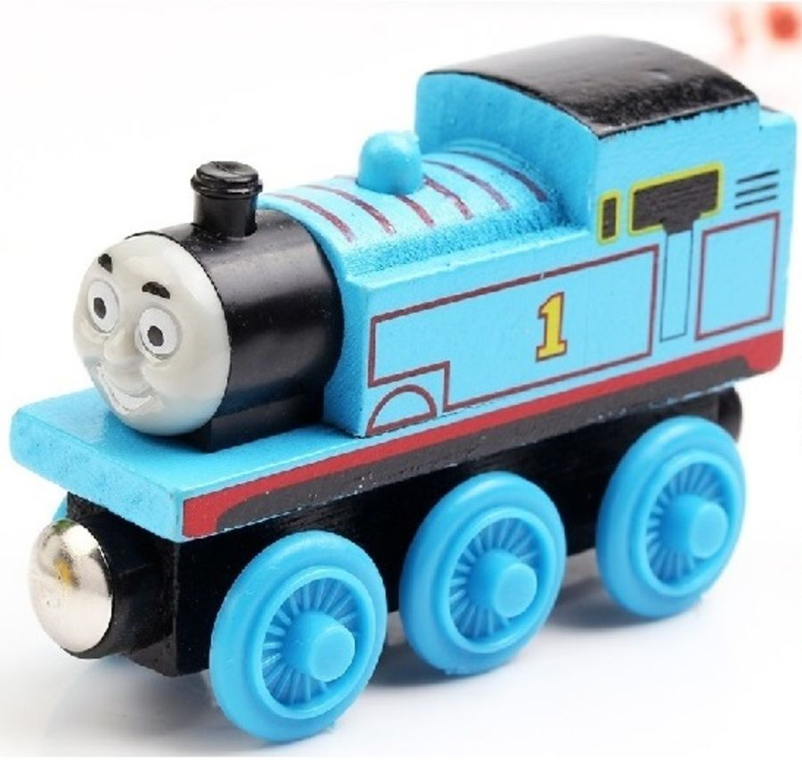 THOMAS THE TANK ENGINE & FRIENDS WOODEN TOY TRAIN BRIO COMPATIBLE