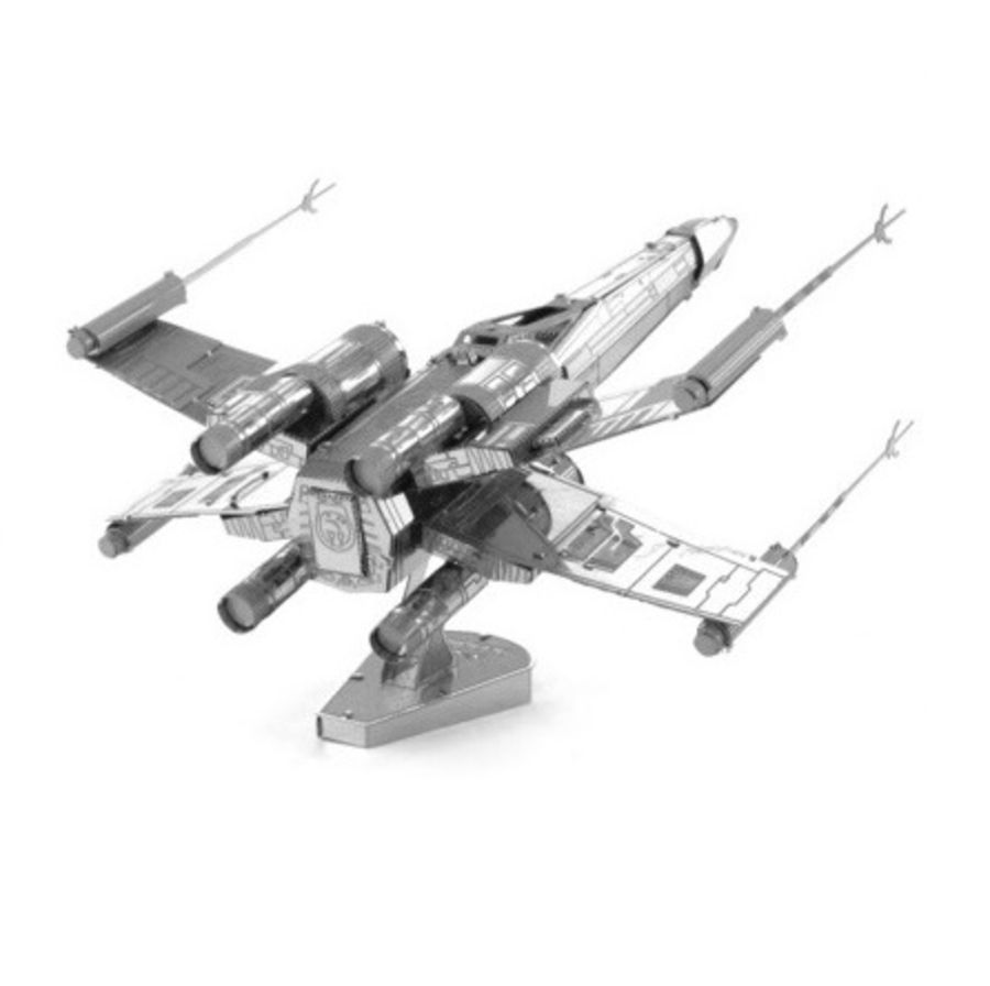 Star Wars X-Wing Star Fighter Metal Earth Model 3D Puzzle Kit Mens Gadget Gift Nano