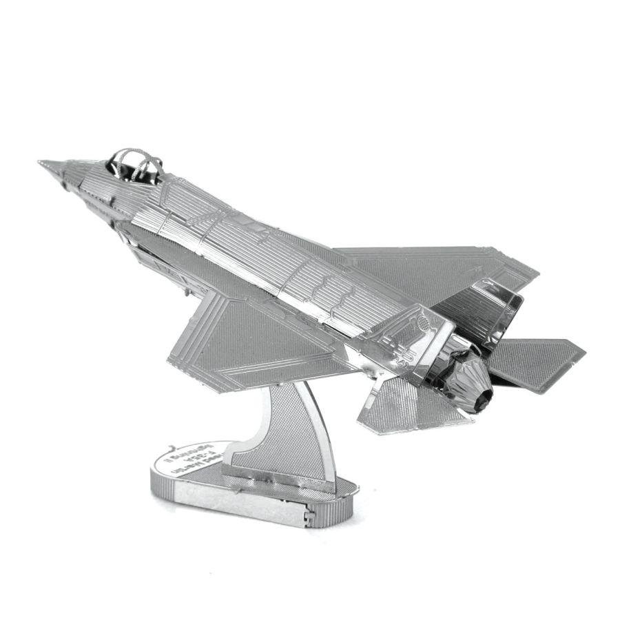 F35 Fighter Jet Plane Metal Earth Model 3D Puzzle Kit Mens Gadget Gift Nano