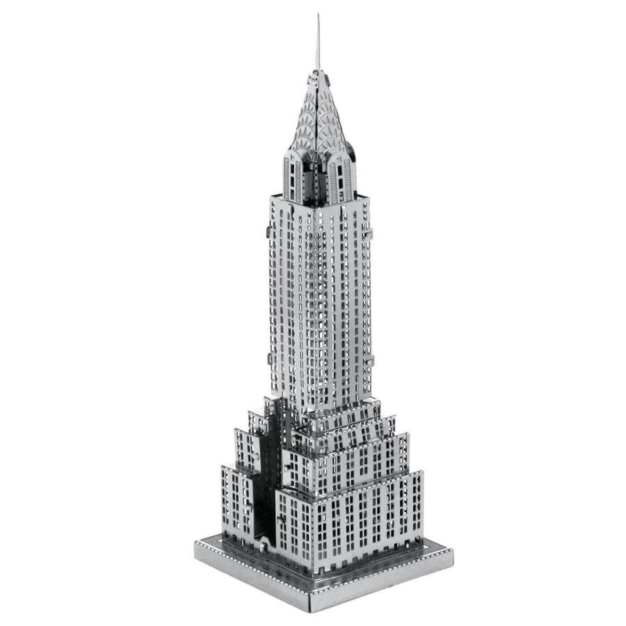 Chrysler Building Metal Earth Model 3D Puzzle Kit Mens Gadget Gift Nano