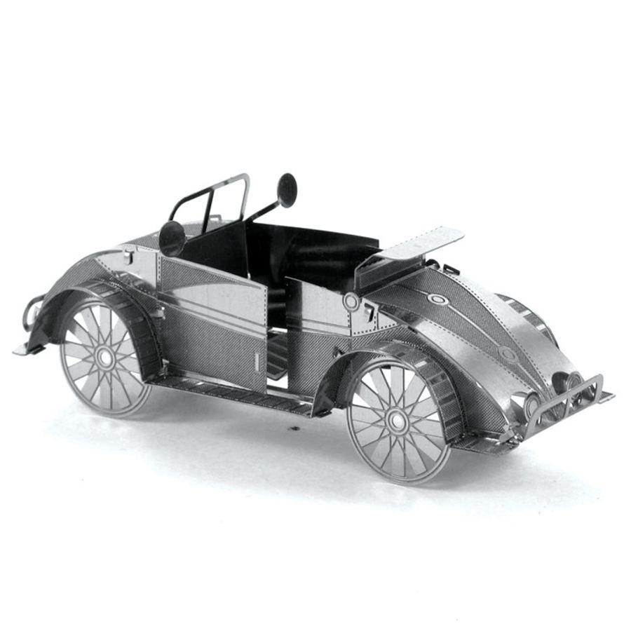 VW Beetle Classic Car Metal Earth Model 3D Puzzle Kit Mens Gadget Gift Nano