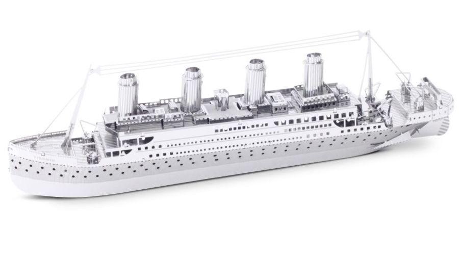 Titanic Ship Boat Metal Earth Model 3D Puzzle Kit Mens Gadget Gift Nano