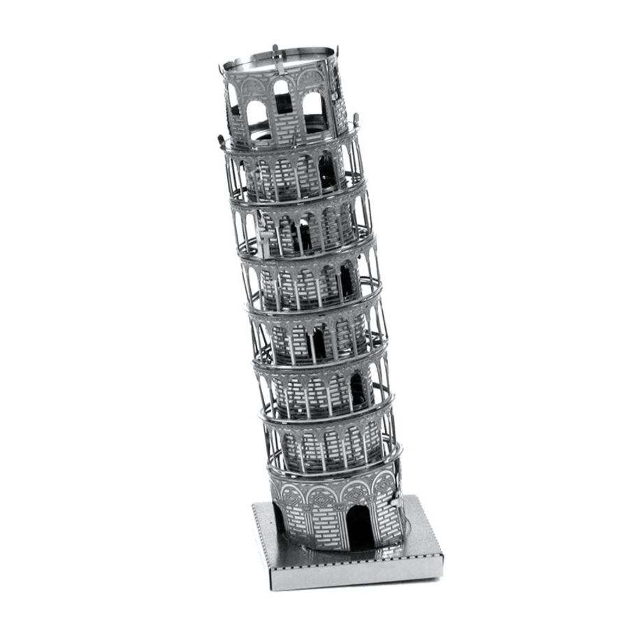 Leaning Tower Of Pisa Metal Earth Model 3D Puzzle Kit Mens Gadget Gift Nano