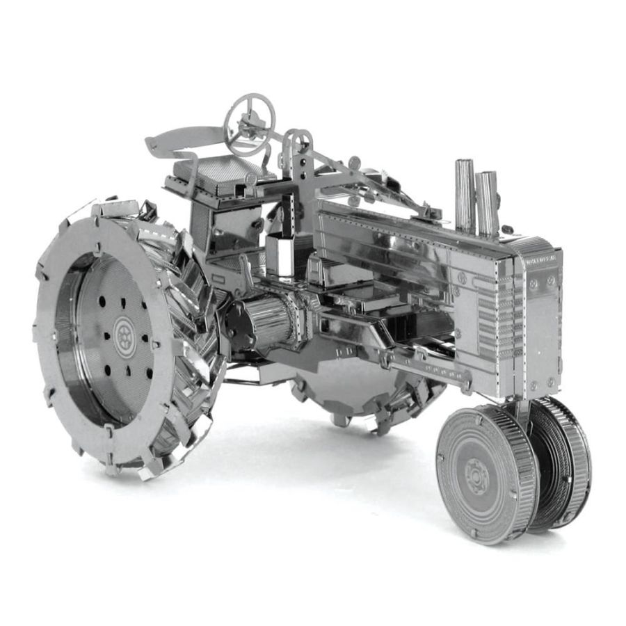 Industrial Tractor Metal Earth Model 3D Puzzle Kit Mens Gadget Gift Nano