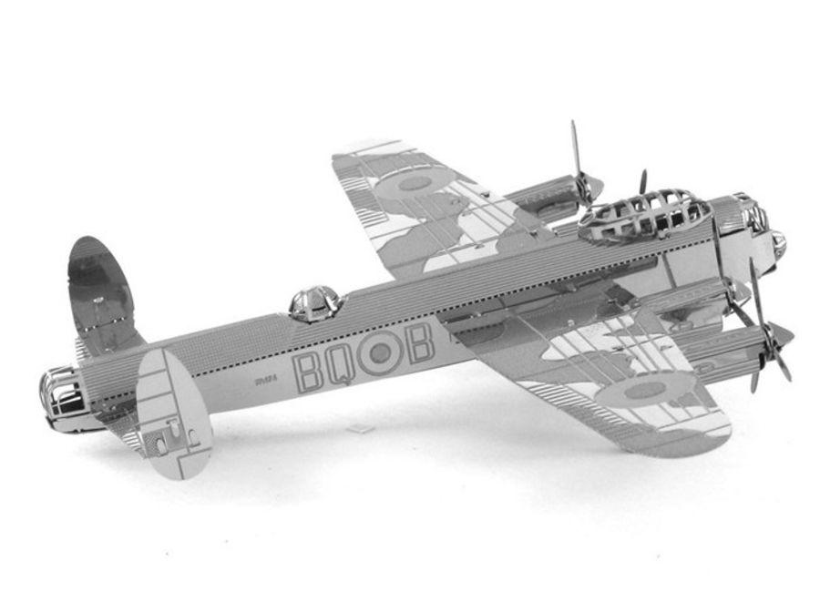 Lancaster Bomber Plane Metal Earth Model 3D Puzzle Kit Mens Gadget Gift Nano