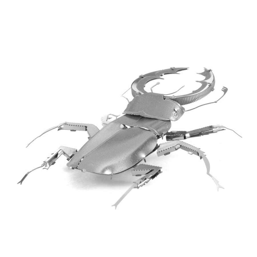 Stag Beetle Metal Earth Model 3D Puzzle Kit Mens Gadget Gift Nano