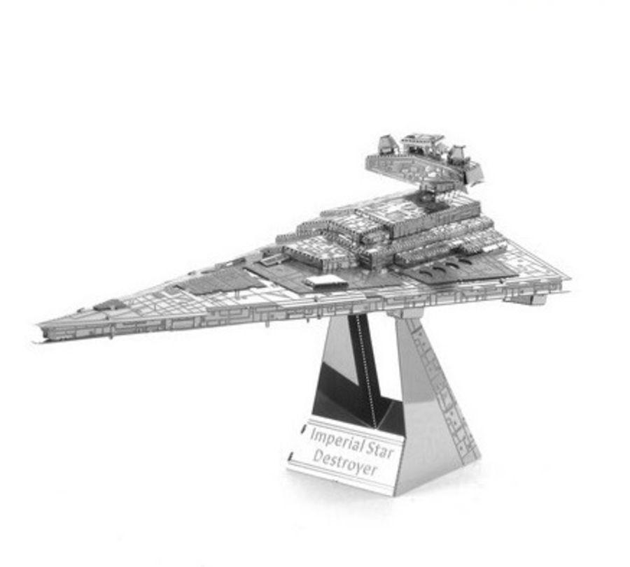 Star Wars Imperial Star Destroyer Metal Earth Model 3D Puzzle Kit Mens Gadget