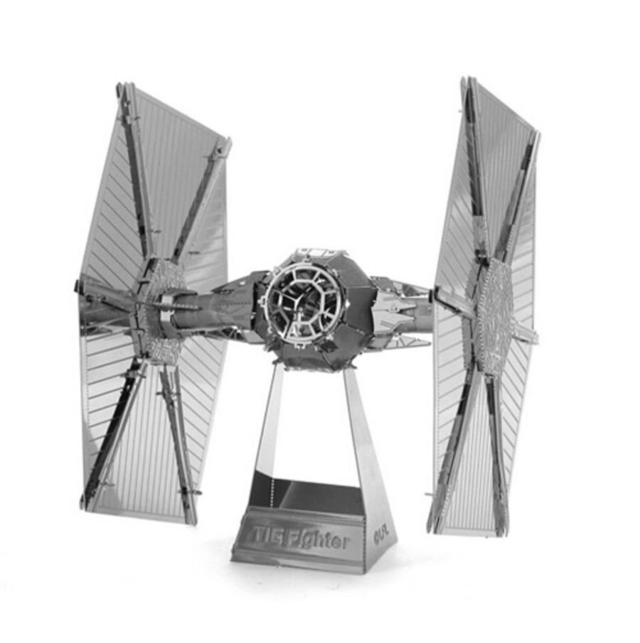 Star Wars Tie Fighter Standard Metal Earth Model 3D Puzzle Kit Mens Gadget Gift Nano