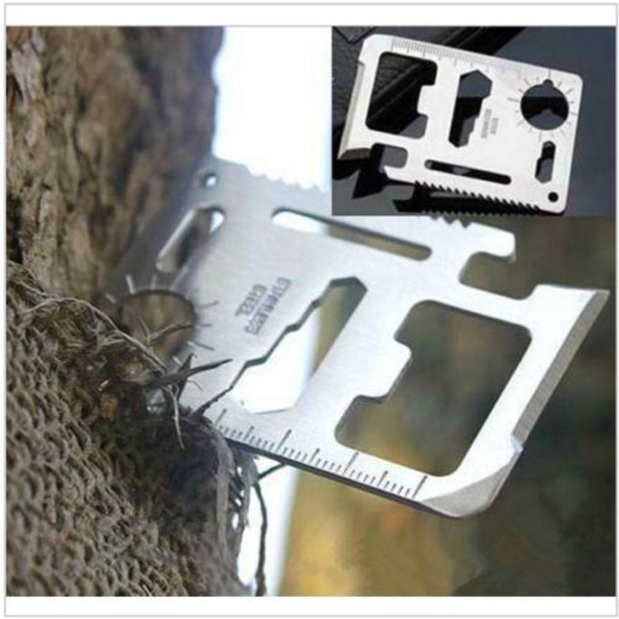 WALLET STYLE MONKEY 16IN1 CREDIT CARD POCKET MULTI TOOL GADGET