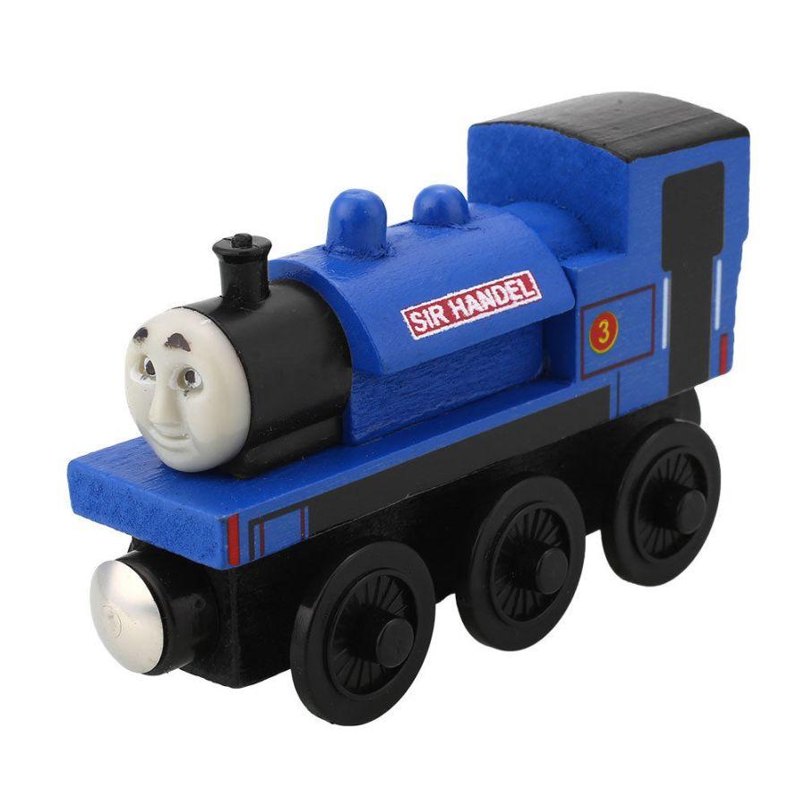 SIR HANDEL THE TANK ENGINE & FRIENDS WOODEN TOY TRAIN BRIO COMPATIBLE