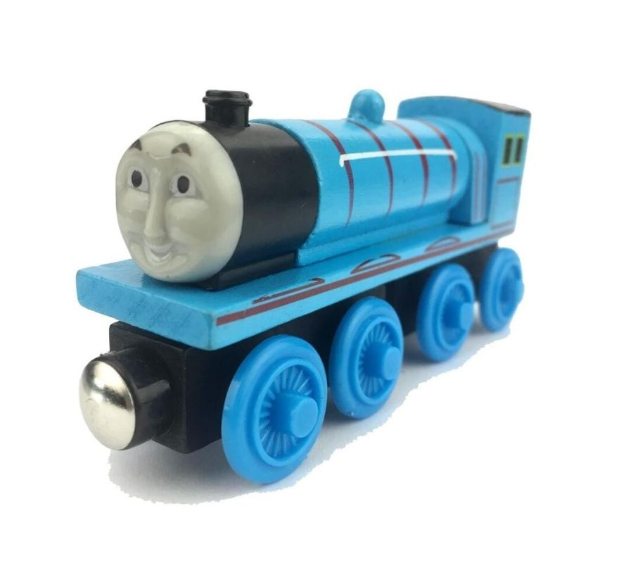 HAROLD HELICOPTER TANK ENGINE & FRIENDS WOODEN TOY TRAIN BRIO COMPATIBLE