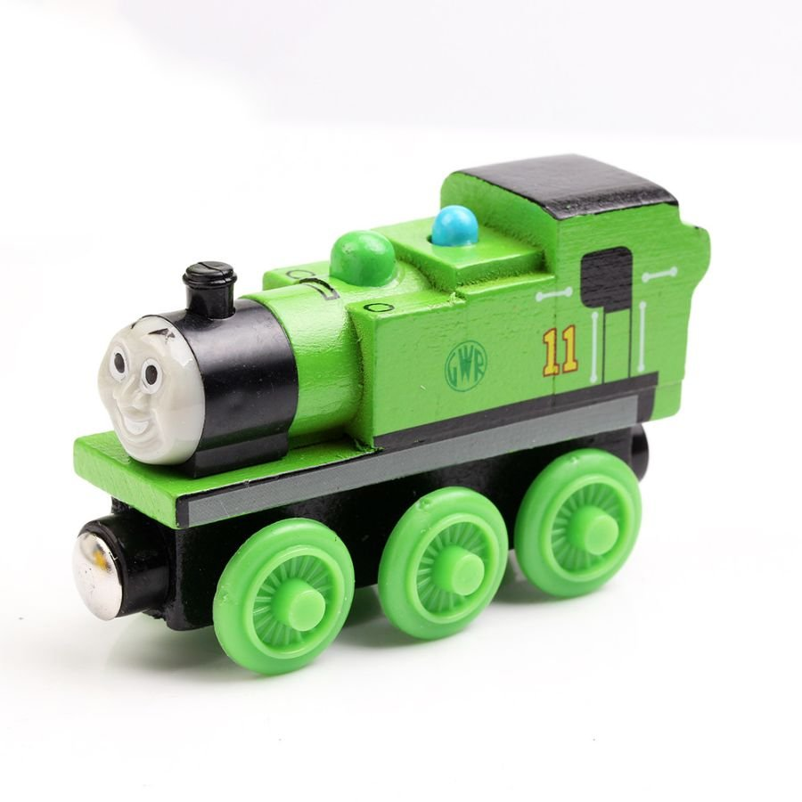 OLIVER THE TANK ENGINE & FRIENDS WOODEN TOY TRAIN BRIO COMPATIBLE