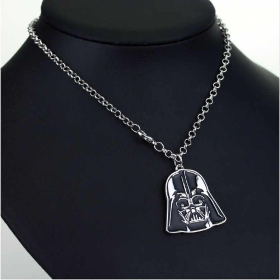 STAR WARS CHAIN CHARM PENDANT NECKLACE COSPLAY DARTH VADER