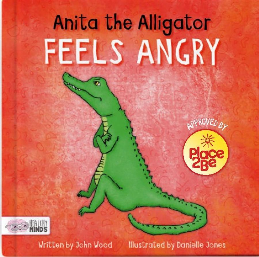 Anita the Alligator Feels Angry