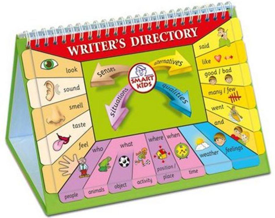 Writer's Directory Flipbook