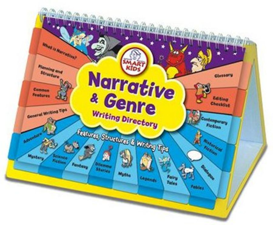 Narrative and Genre Writing Directory Flipbook