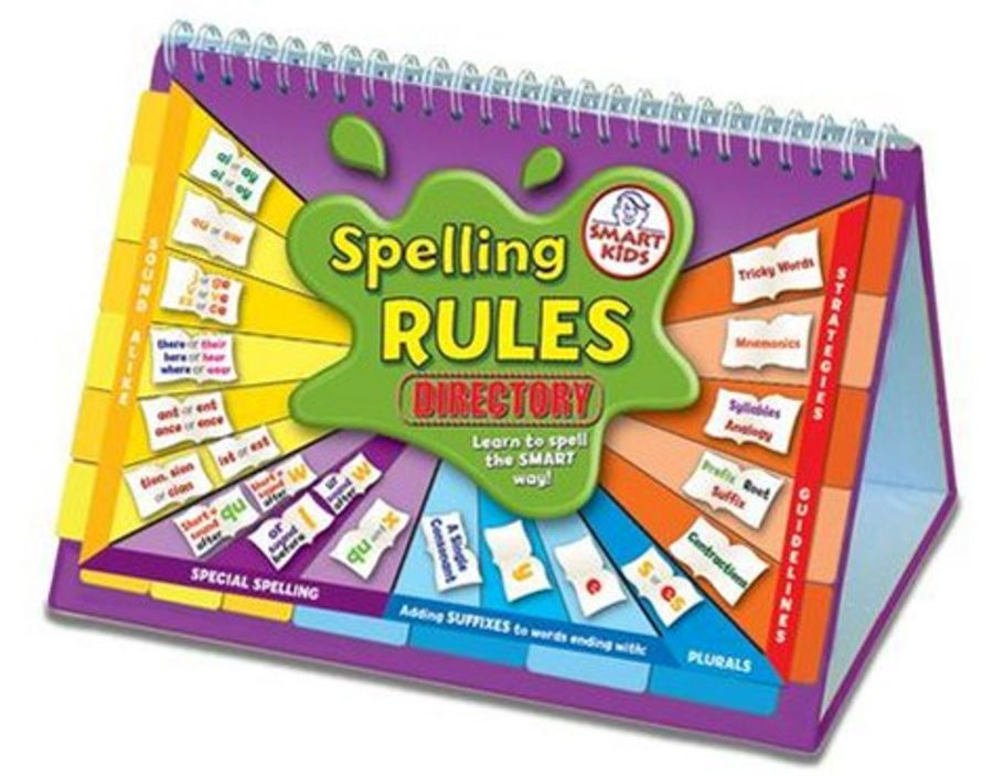 Spelling Rules Directory Flipbook