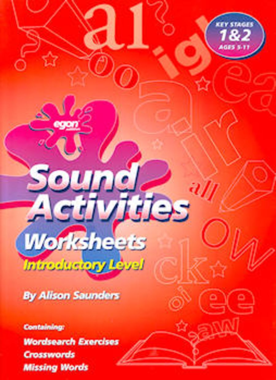 Sound Activities Worksheets: Introductory Level