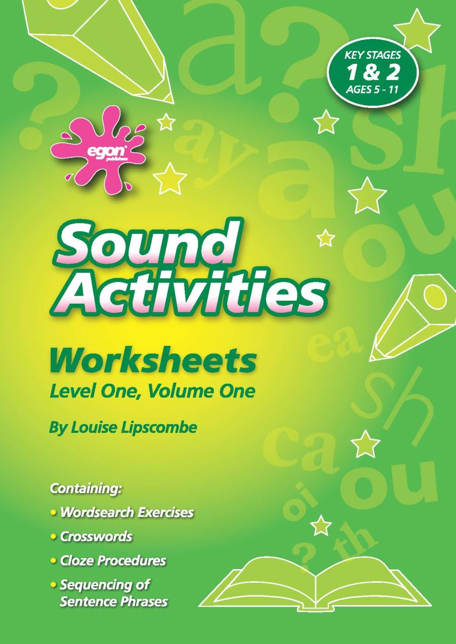 Sound Activities Worksheets: Level 1 Volume 1