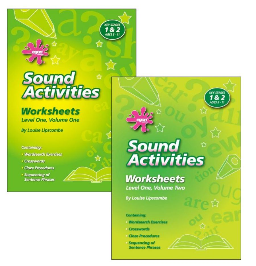 Sound Activities Worksheets: Level 1 SET