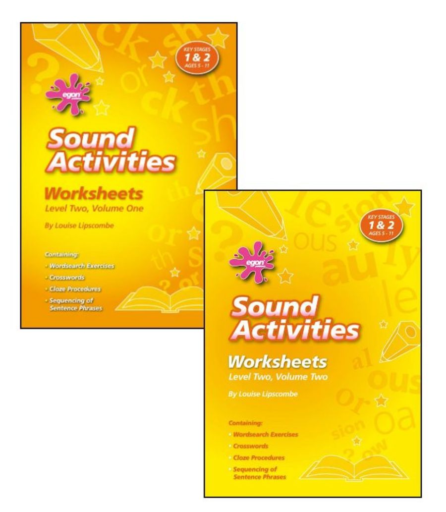 Sound Activities Worksheets: Level 2 SET