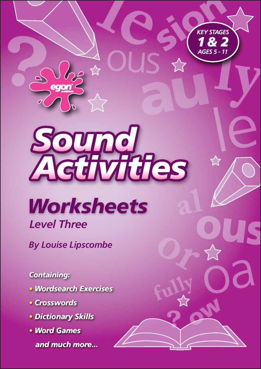Sound Activities Worksheets: Level 3