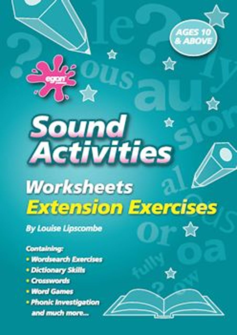 Sound Activities Worksheets: Extension Exercises