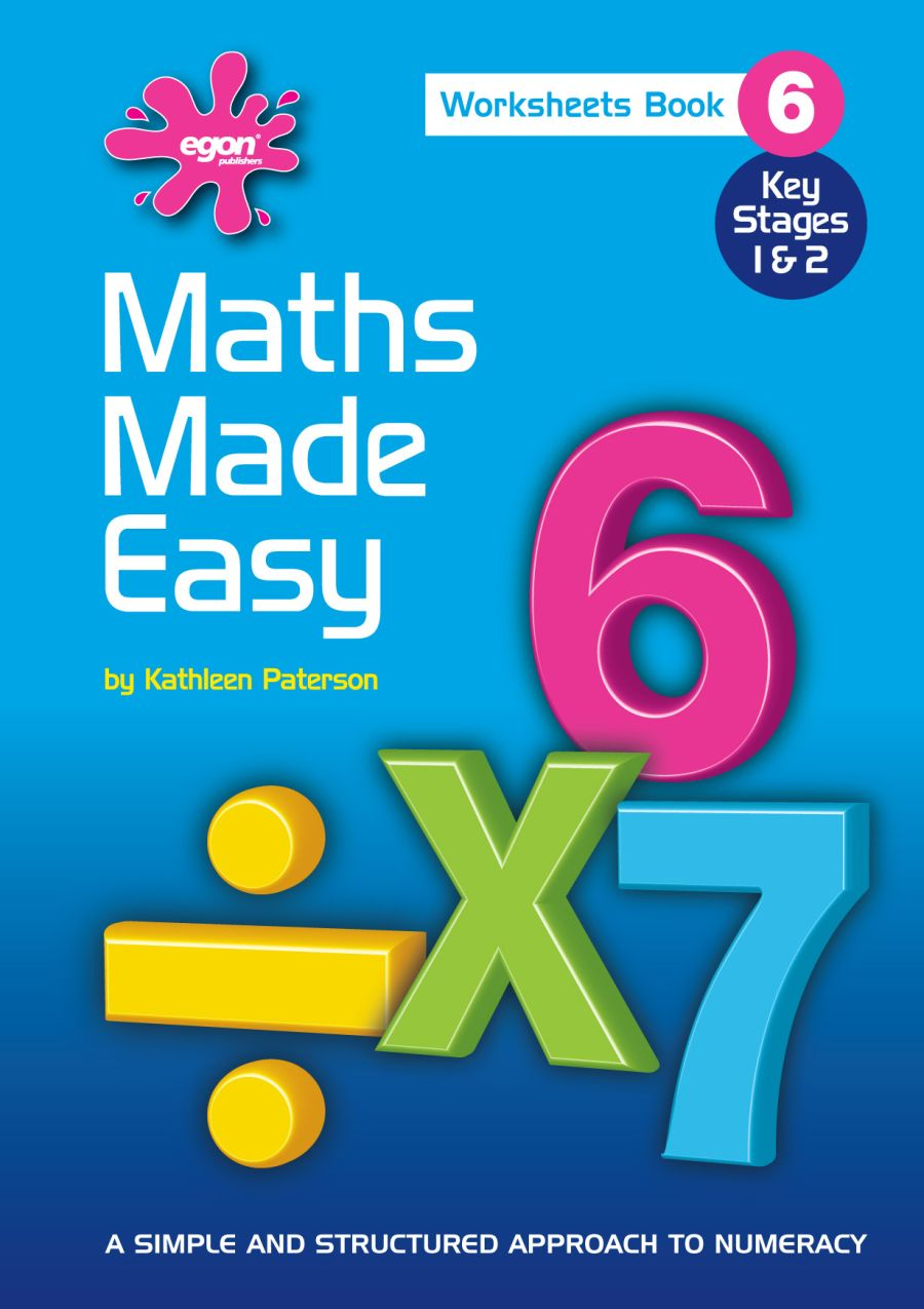 Maths Made Easy Book 6