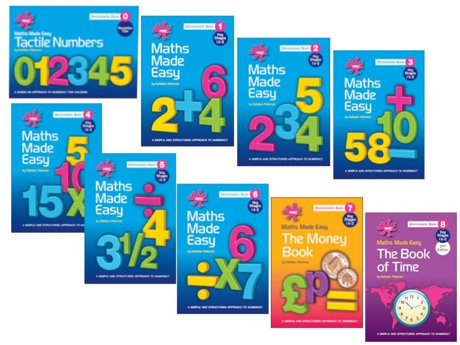 Maths Made Easy Complete Set of 9 Books