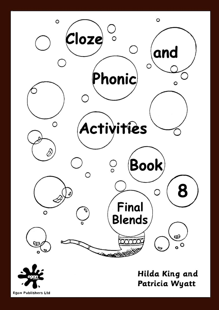 Cloze and Phonic Activities Book 8: Final Blends