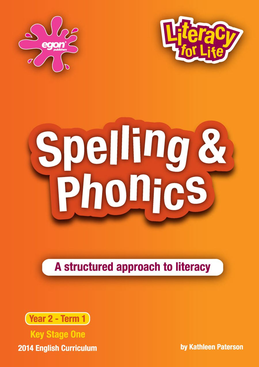 Literacy for Life -  Year 2 Term 1: Spelling & Phonics