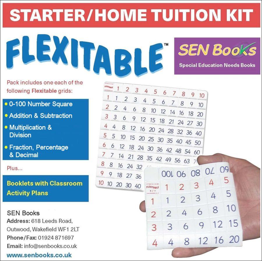 Flexitable Starter/Home Tuition Kit