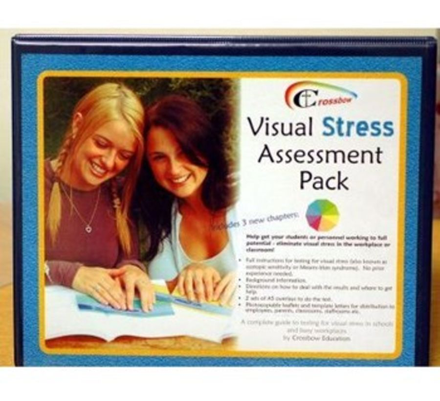 Visual Stress Assessment Pack - School Edition