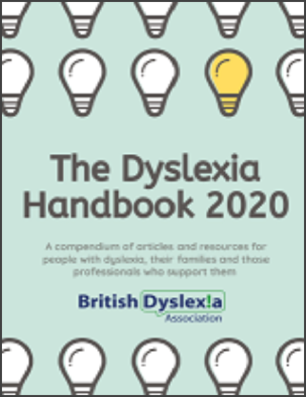 The Dyslexia Handbook 2020