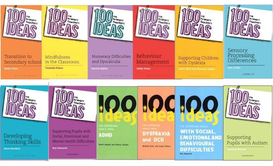 100 Ideas Primary Teachers Bundle, 10 books