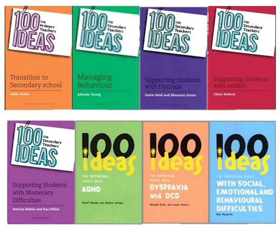 100 Ideas Secondary Teachers Bundle, 8 books