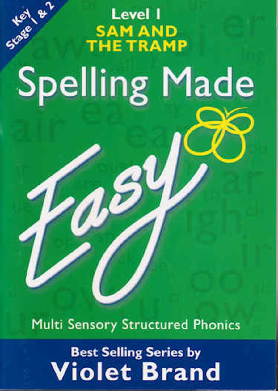 Spelling Made Easy Text Book Level 1