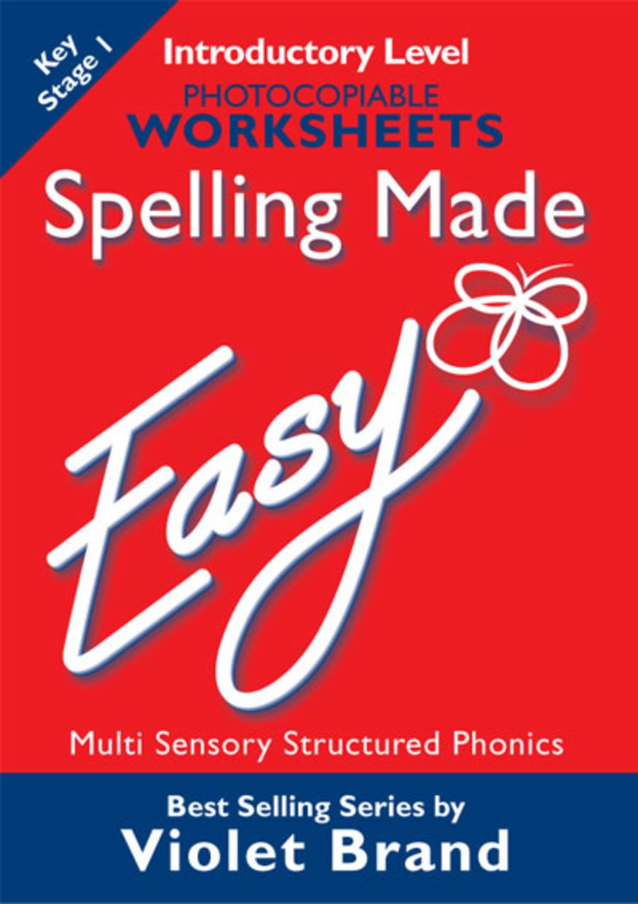 Spelling Made Easy Worksheets Introductory Level