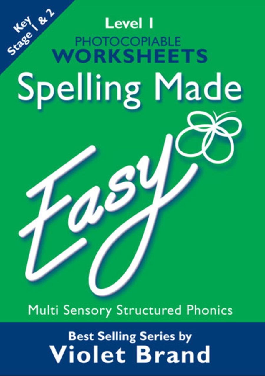 Spelling Made Easy Worksheets Level 1