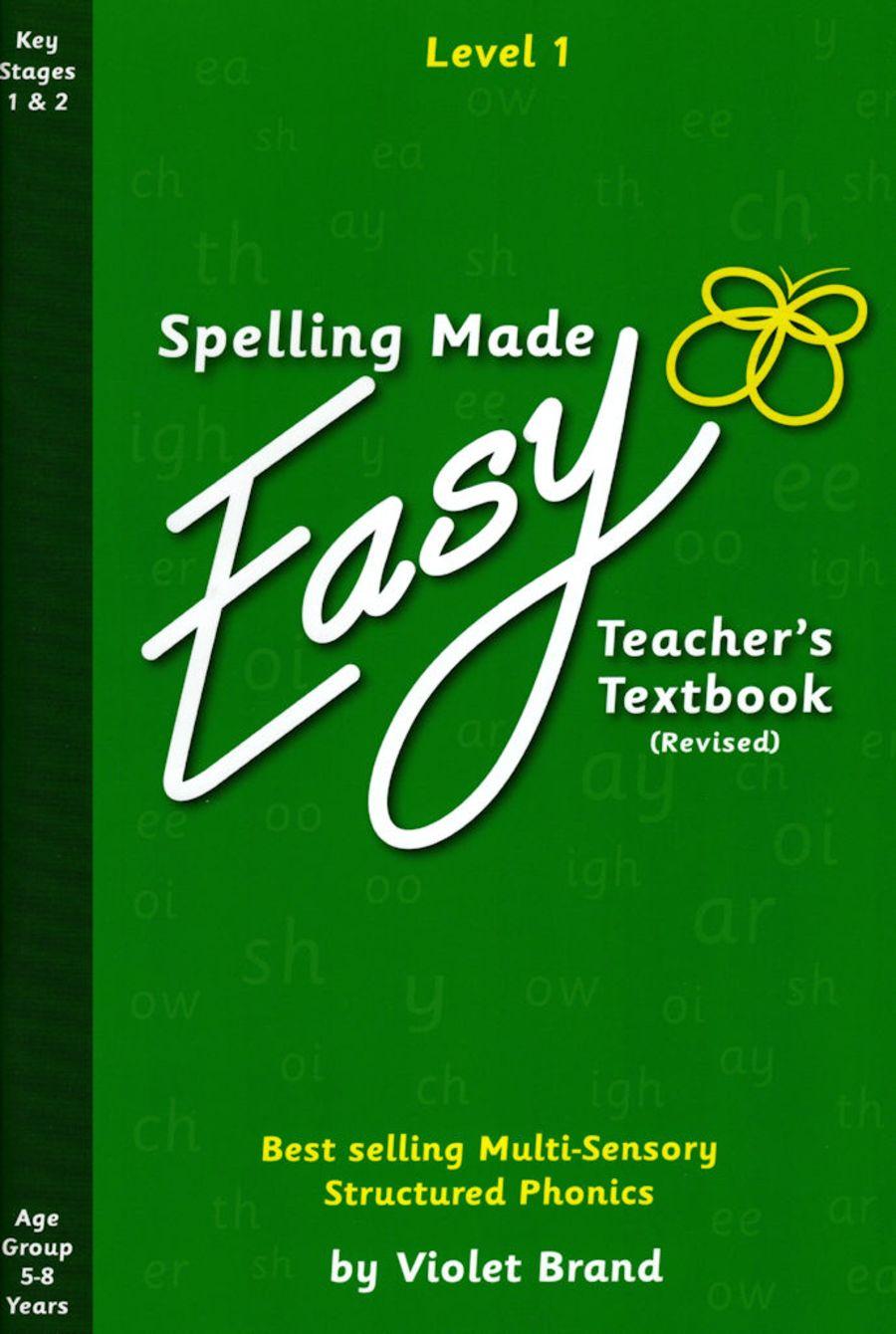 Spelling Made Easy Revised Teacher's Textbook Level 1