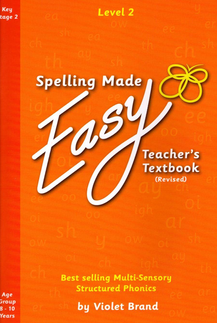 Spelling Made Easy Revised Teacher's Textbook Level 2