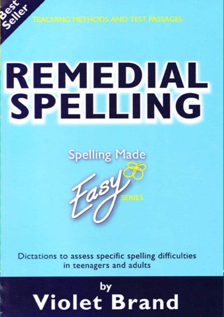 Remedial Spelling