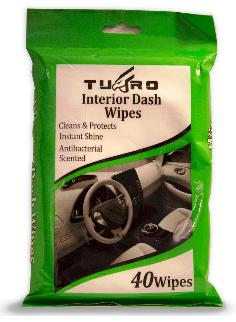40 Car Dash Wipes
